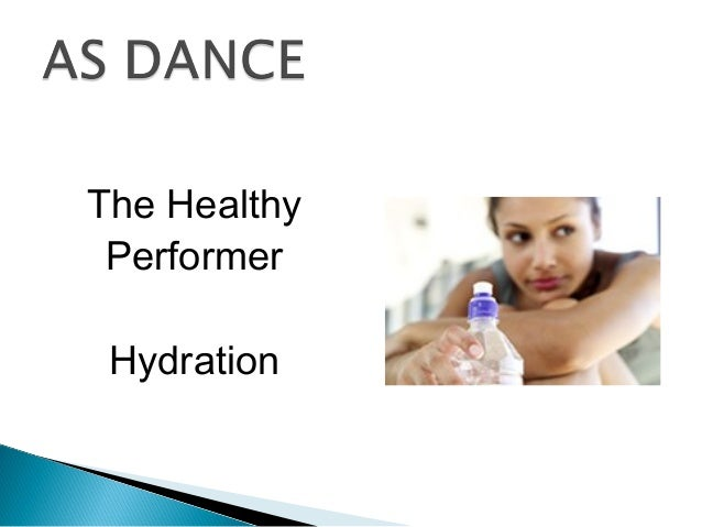 The Healthy Performer Hydration