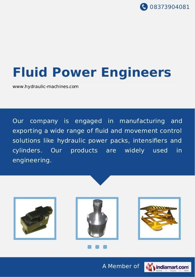 Hydraulic cylinder thesis