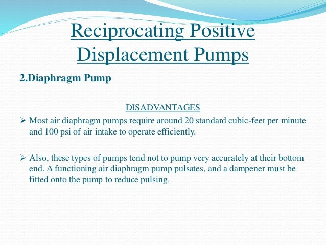 Hydraulic pump 26 reciprocating positive displacement pumps ccuart Images