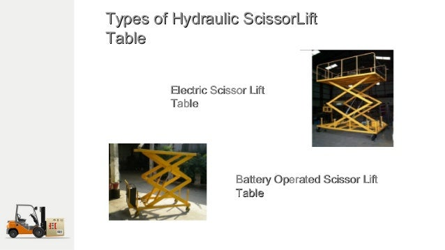 Best Hydraulic Scissor Lifting Table Manufacture in India