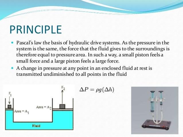 Principle Of Hydraulic Crane Project : Hydraulic arm
