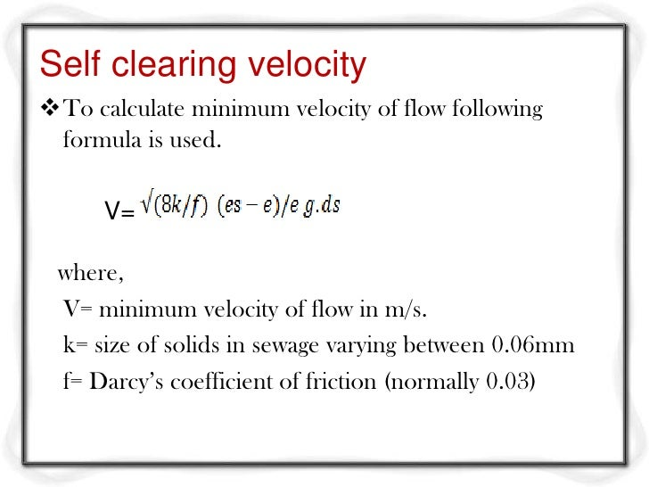 how to find the minimum velocity