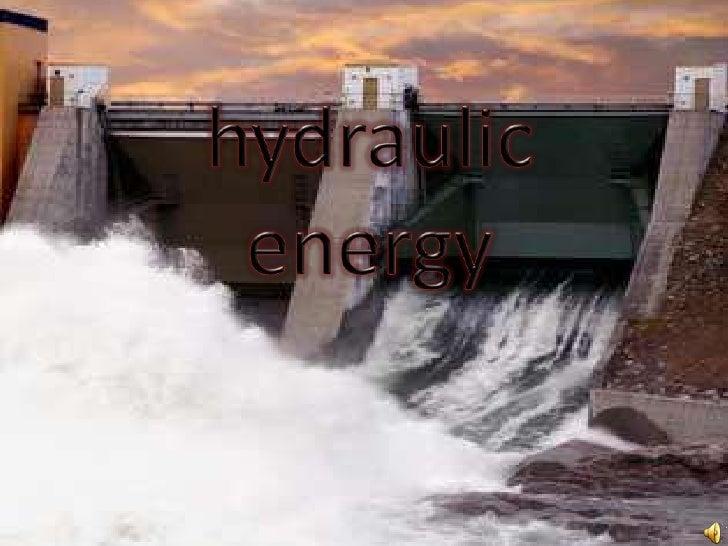 hydraulicenergy<br />
