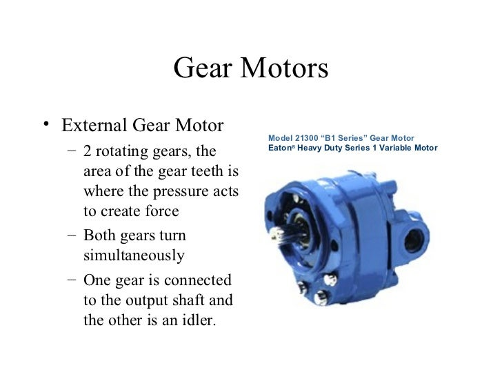 Vane Motor Working Principle