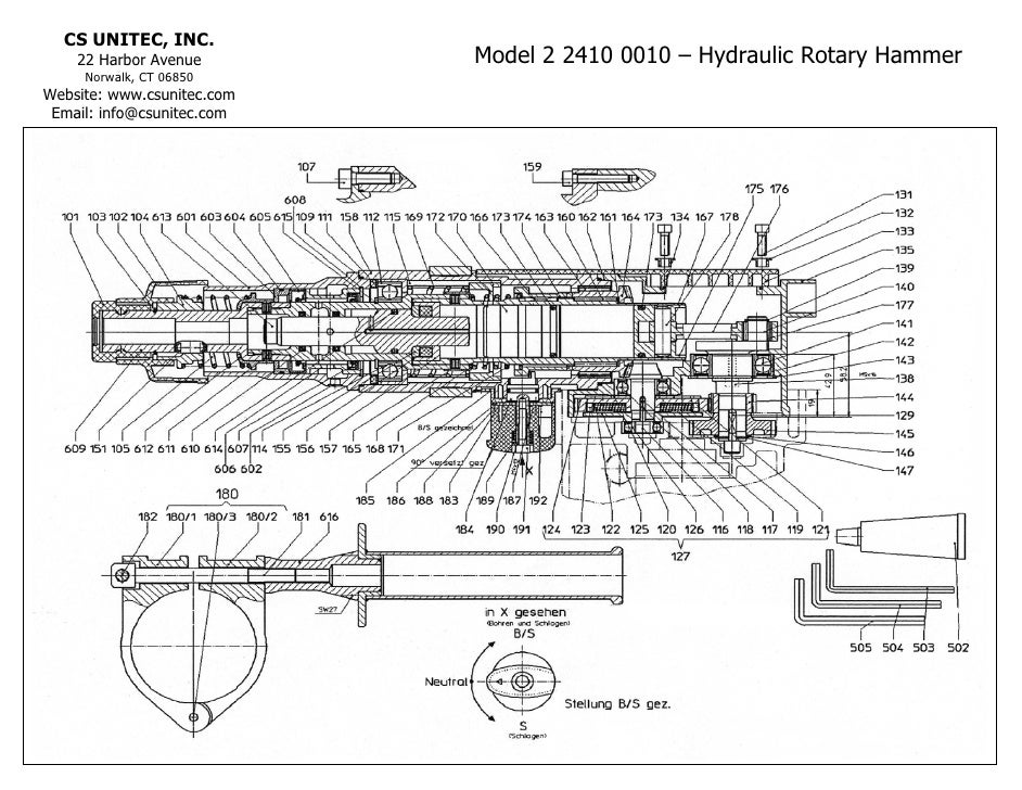 hydraulic hammer schematic collection of wiring diagram u2022 rh wiringbase today