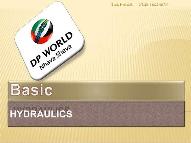 Basic Hydraulic  12/8/2013 8:25:06 AM  1