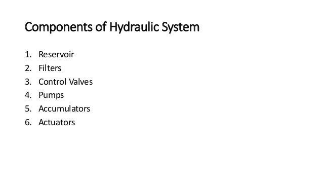1. Hydraulic Reservoir