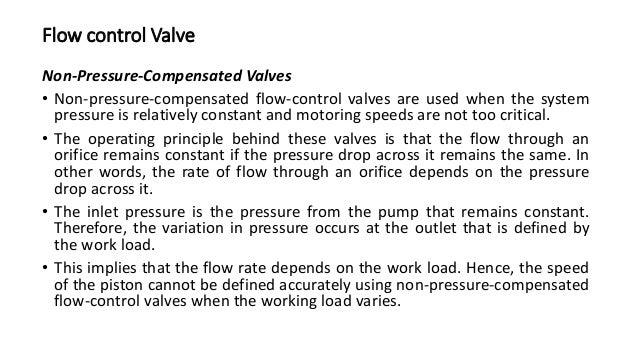 Internally & Externally Piloted Counter Balance valve