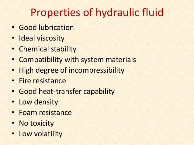Structure of Hydraulic systems • A tank ( reservoir ) to hold the hydraulic oil • A pump to force the oil through the syst...