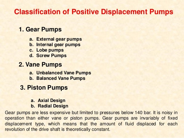 Pump Design, Operation, and Application • Pumping action of gear pumps results from unmeshing and meshing of the gears – A...
