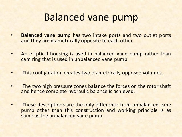 Difference Between Pump and Actuator • Pump performs the function of adding energy to the fluid of a hydraulic system for ...