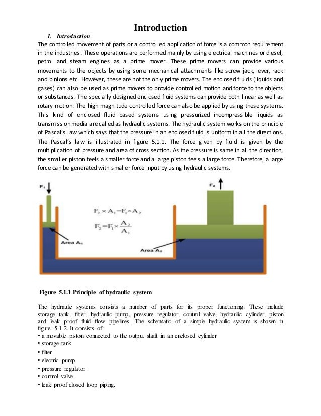 Hydraulic Systems Report