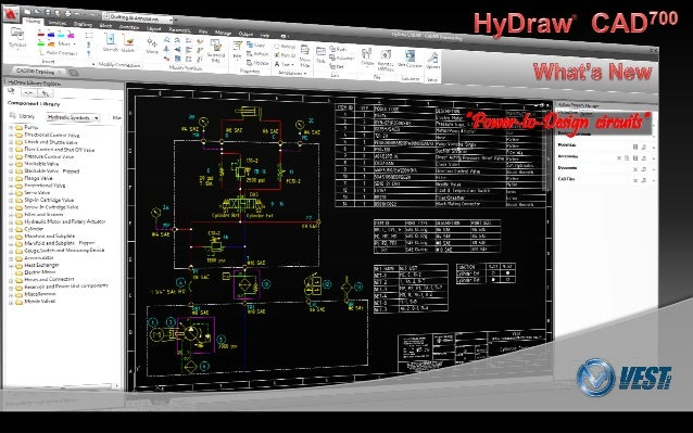 Circuit Design with HyDraw CAD700 : What\'s New