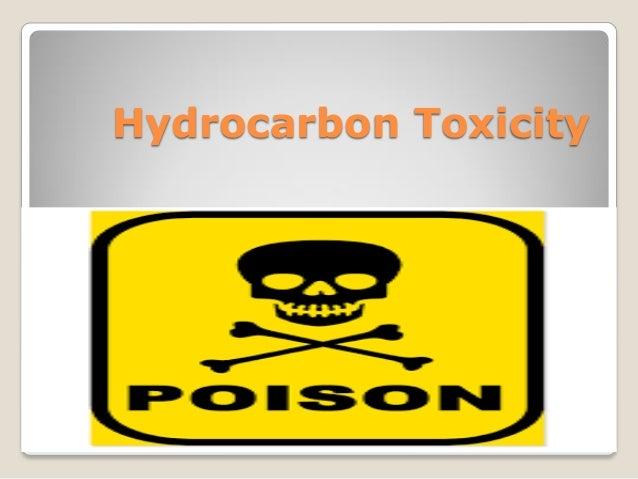 Hydrocarbon Toxicity