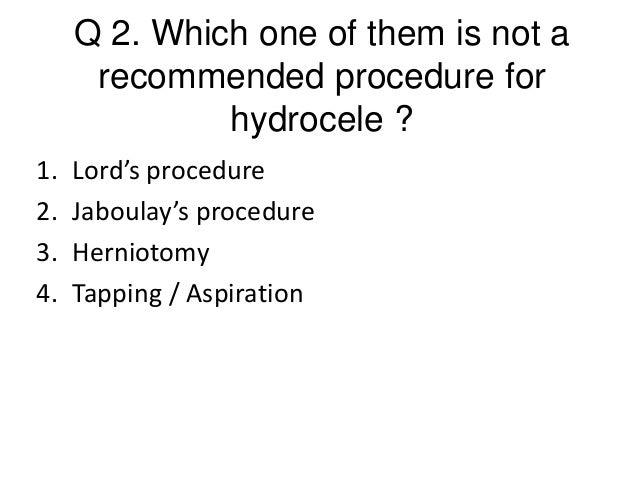 Hydrocele ppt by Dr. Ashok Kumar , LHMC