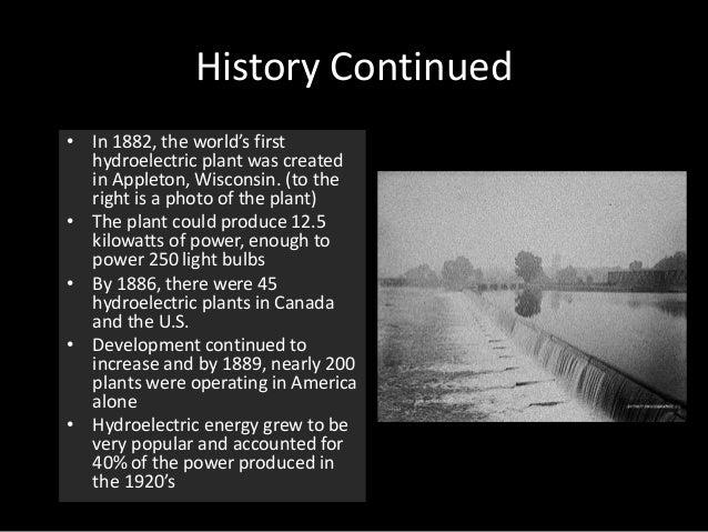 Hydroelectric Energy Dams