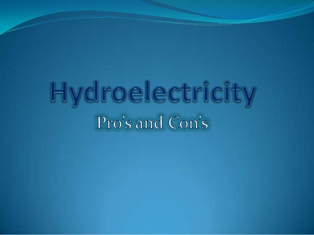 Introduction Hydroelectricity is a good source of green energy. It has been used as an environmental power source for year...