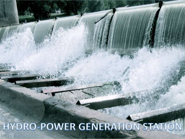  This is the generation of power by harnessing the energy of flowing water. This presentation will focus on; * Factors co...