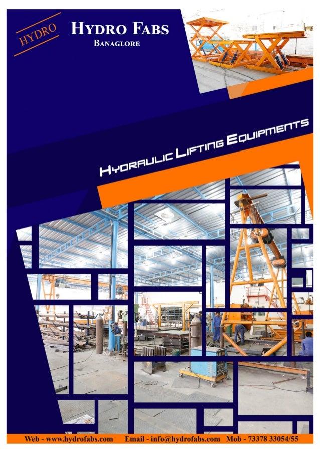 Hydro Fabs, Bengaluru, Hydraulic Goods