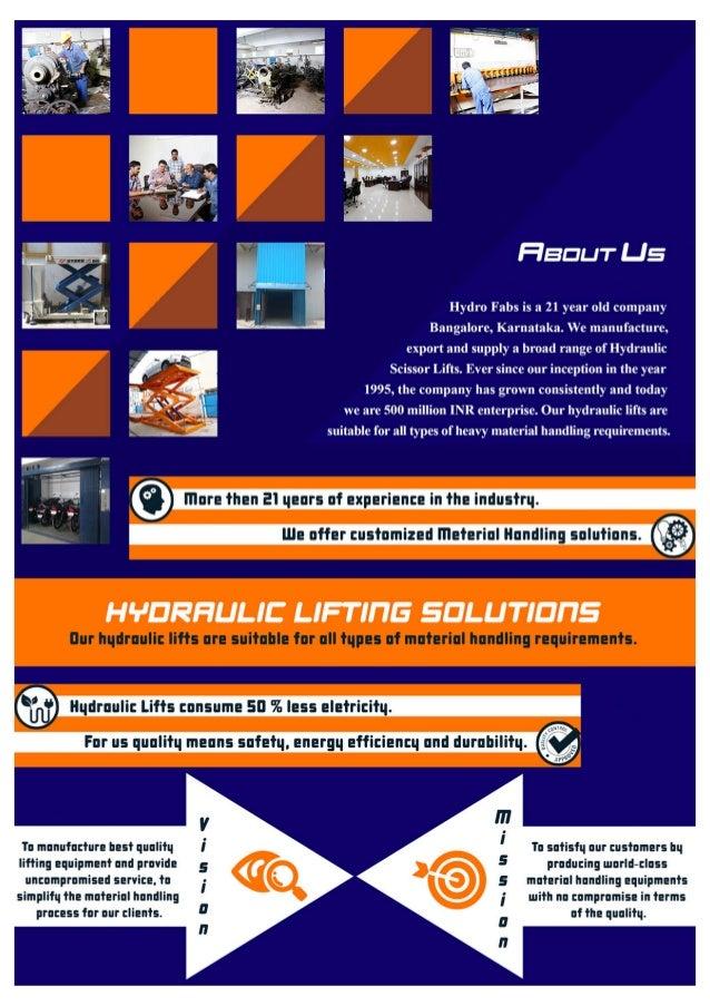 Hydro Fabs, Bengaluru, Hydraulic Goods Slide 2