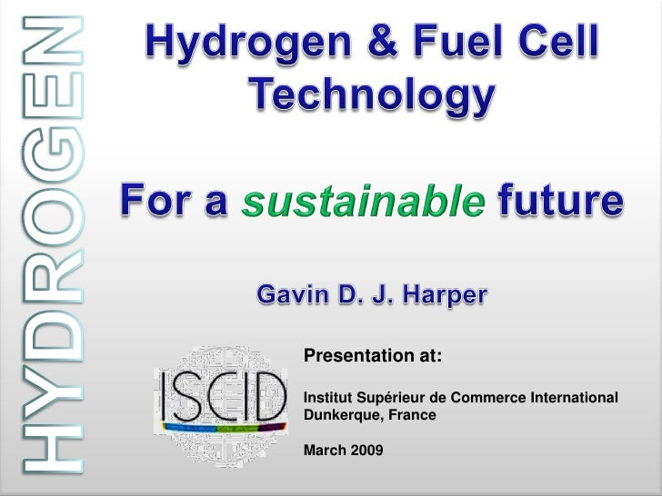 Hydrogen fuel cells a step forward in technology