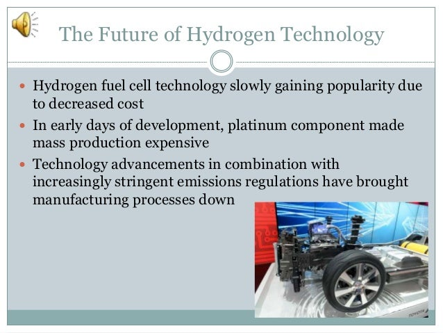 an overview of the benefits of hydrogen the fuel of the future Hydrogen benefits and considerations hydrogen can be produced from diverse domestic plan for plans and projections for the future of hydrogen and fuel.