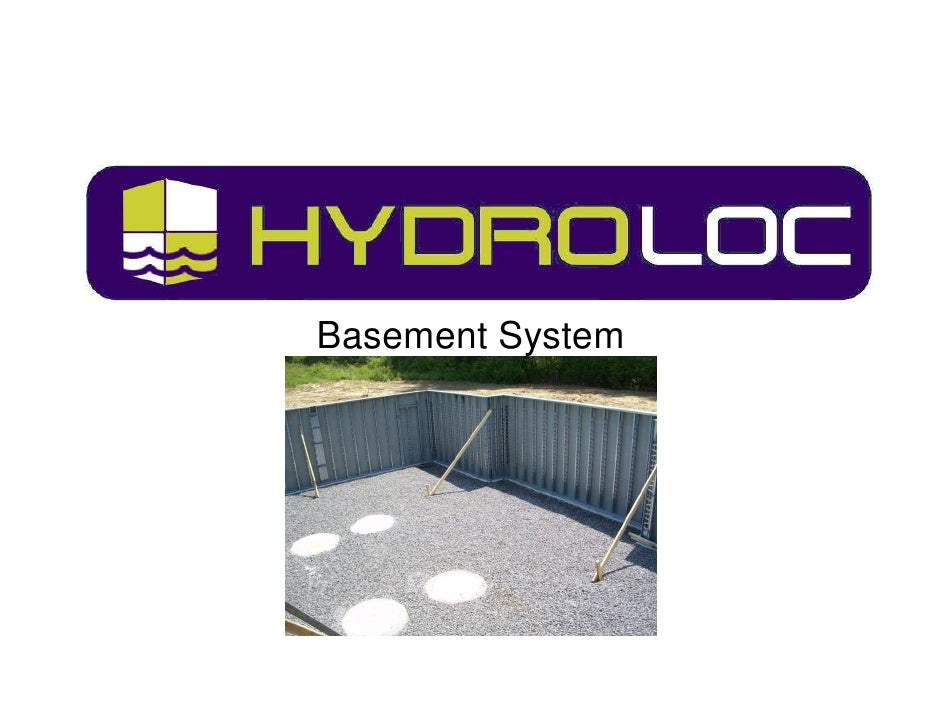 Basement System