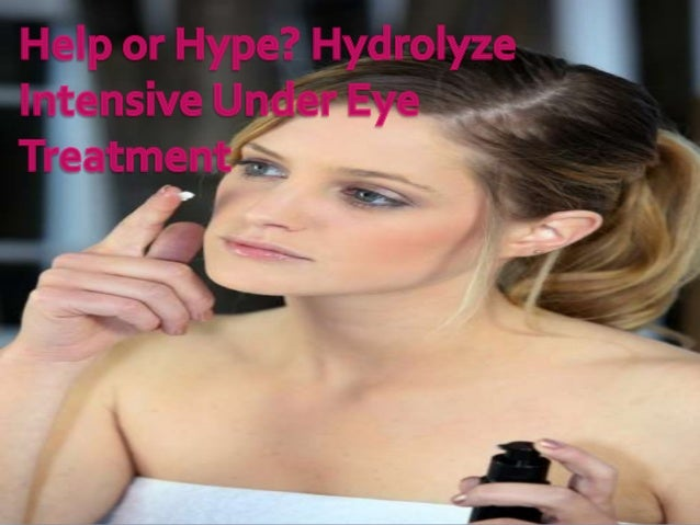 Hydrolyze Eye Cream is a product that claims to reduce the appearance of dark circles, baggy eyes, and wrinkles leaving yo...