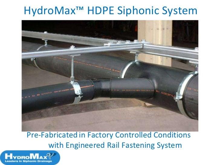 Aspe Siphonic Roof Drainage Design Standard Wade Hydromax