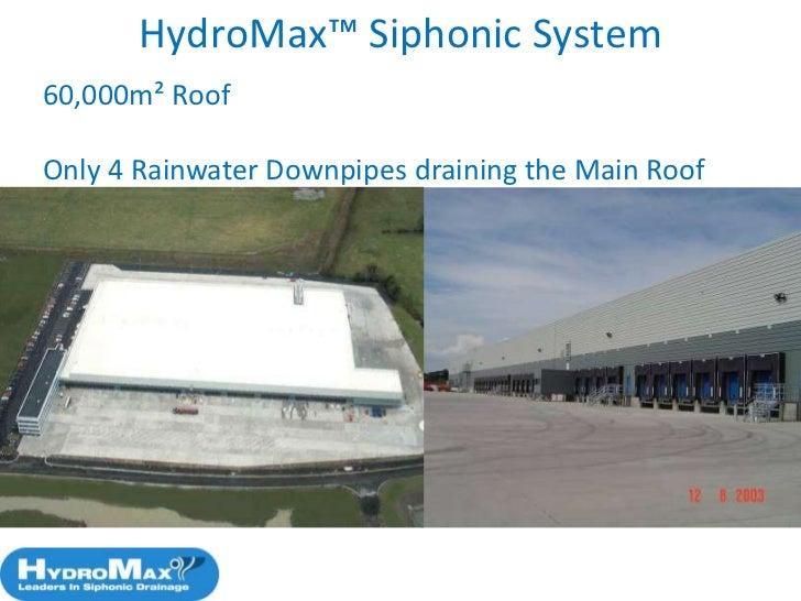 Aspe Siphonic Roof Drainage Design Standard Hydromax