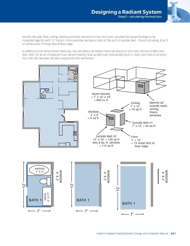 Radiant floor heating design manual gurus floor for Radiant floor layout