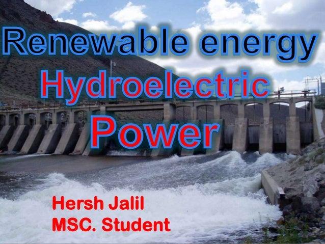 Hersh Jalil MSC. Student