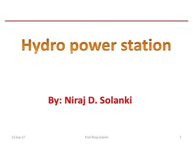 12-Sep-17 1 By: Niraj D. Solanki Prof. Niraj Solanki
