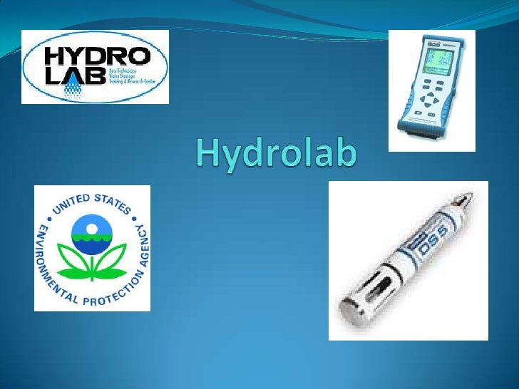 What is it for?The Hydrolab is the name of the sonde we will be using.It is a scientific instrument used to measure biol...