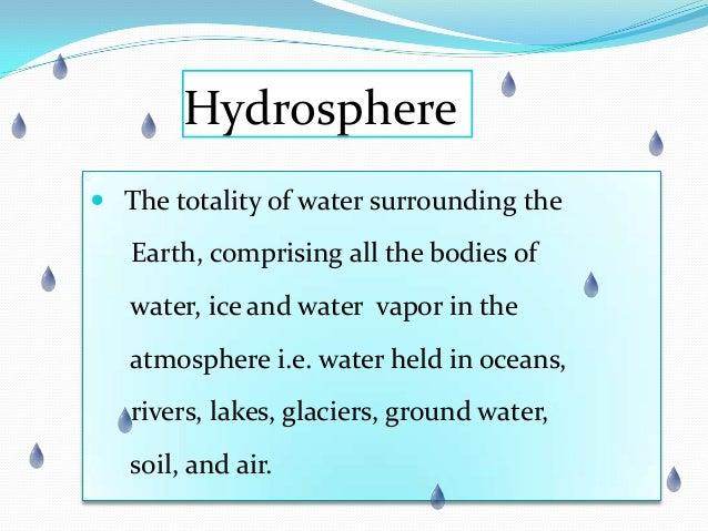 Hydrosphere Slide 2