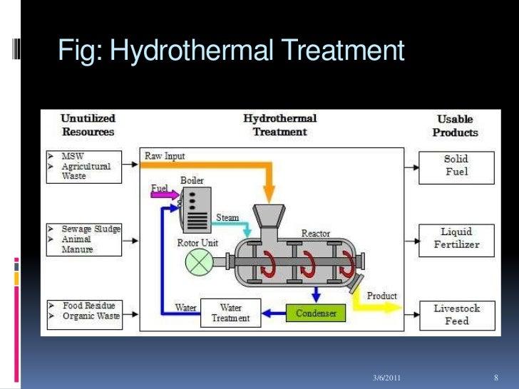 An experimental study on hydrothermal treatment essay
