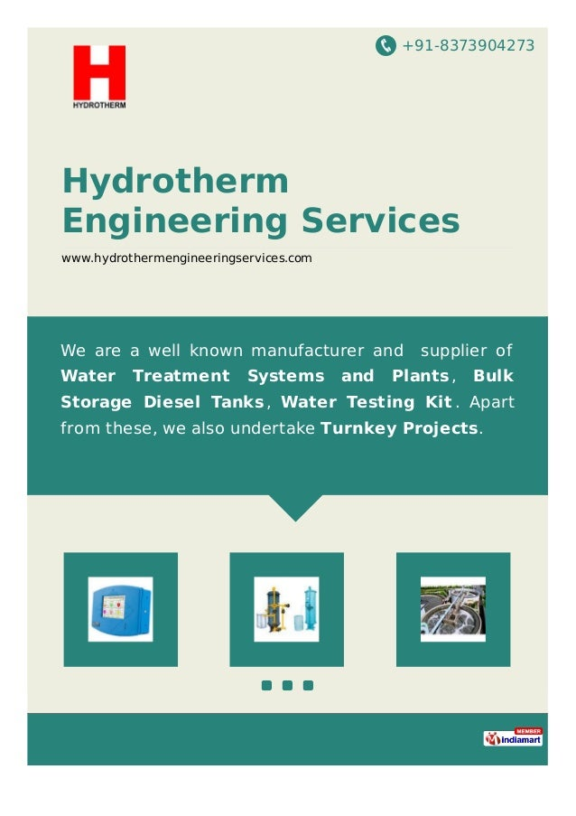 +91-8373904273 Hydrotherm Engineering Services www.hydrothermengineeringservices.com We are a well known manufacturer and ...