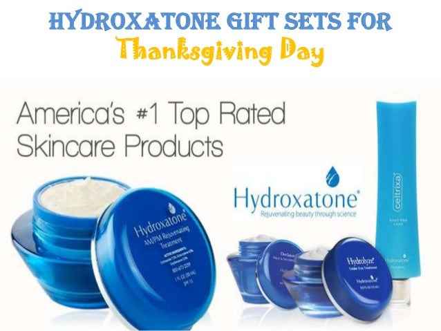 Hydroxatone Gift Sets forThanksgiving Day