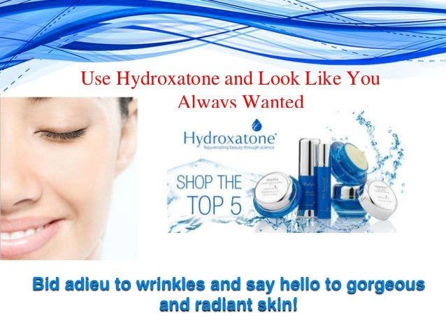 how to use hydroxatone products