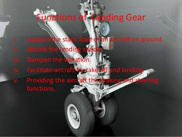 Hydraulic System Of Landing Gear In Aircrafton Aircraft Nose Landing Gear Systems