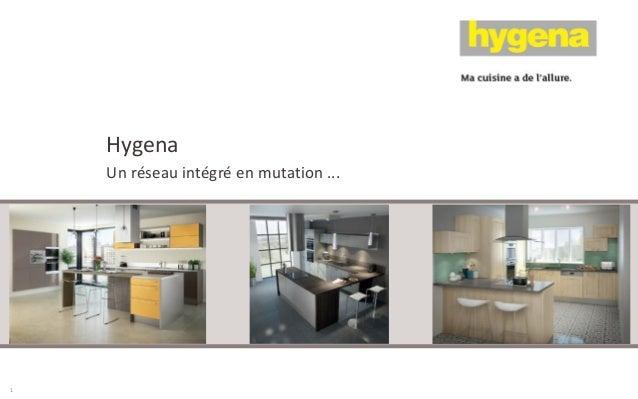 Hygena Un réseau intégré en mutation ... 1