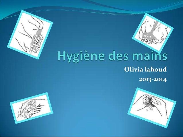 Olivia lahoud 2013-2014