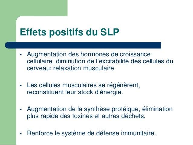 Effets du SLP sur les processus  cognitifs   Apprentissage de connaissances  psychomotrices complexes.   Ce serait duran...