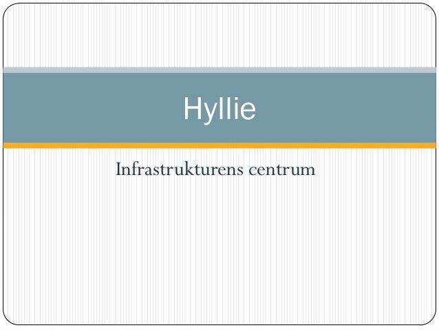 HyllieInfrastrukturens centrum