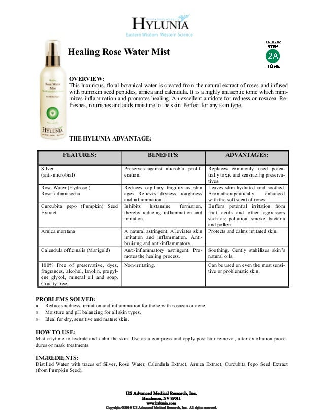 Healing Rose Water Mist                 OVERVIEW:                 This luxurious, floral botanical water is created from t...