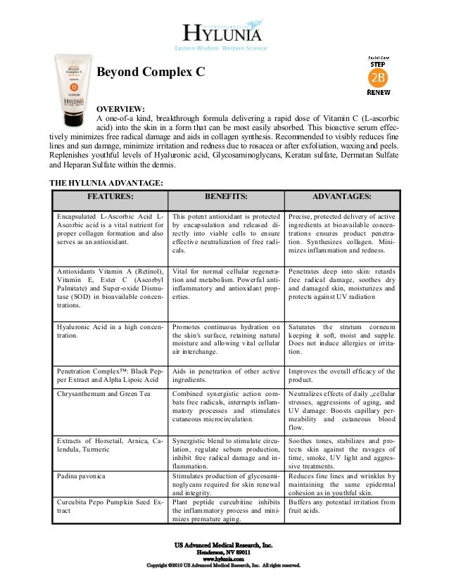 Beyond Complex C               OVERVIEW:               A one-of-a kind, breakthrough formula delivering a rapid dose of Vi...