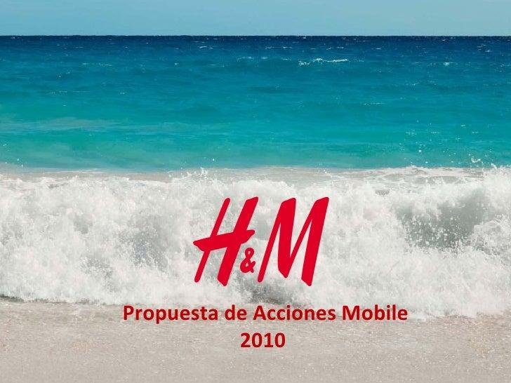 Propuesta de Acciones Mobile 2010