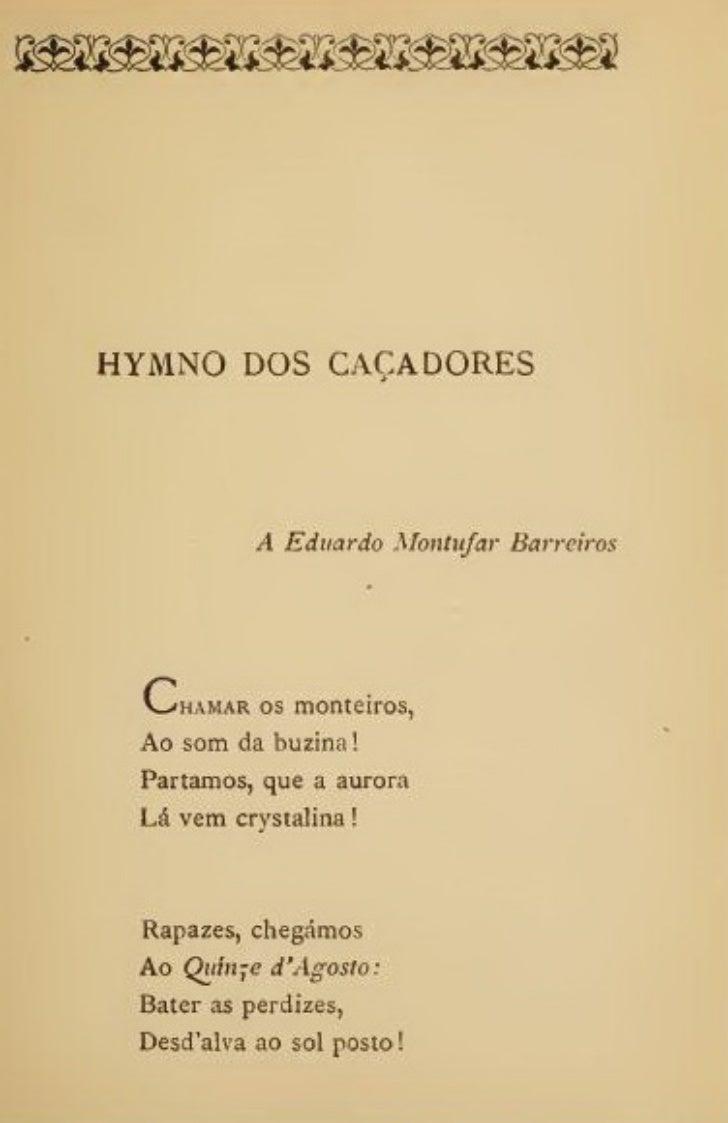 Hymno dos caçadores