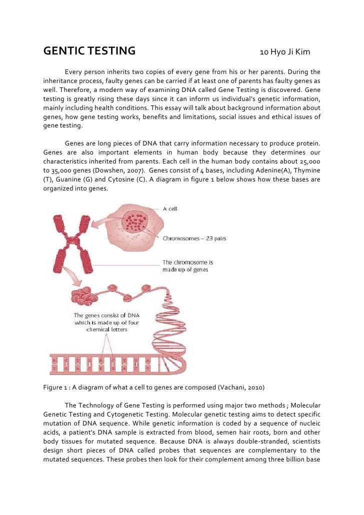 what is genetic testing