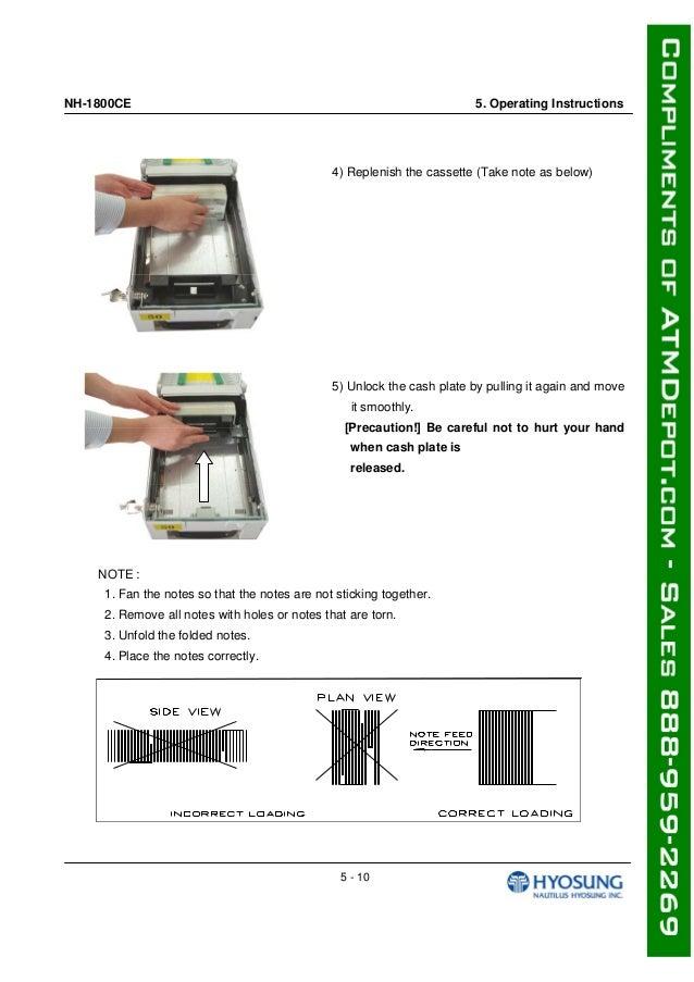 Hyosung Atm Machine Manual